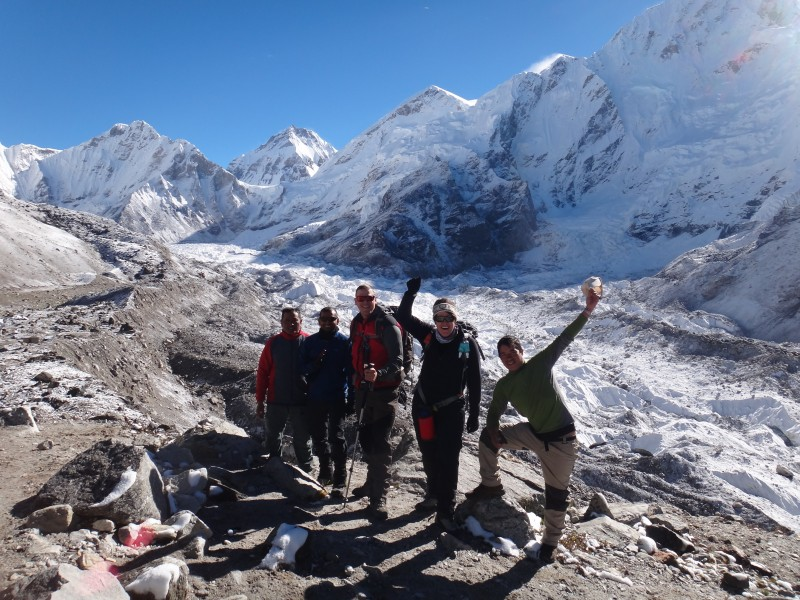 everest base camp Gorakshep