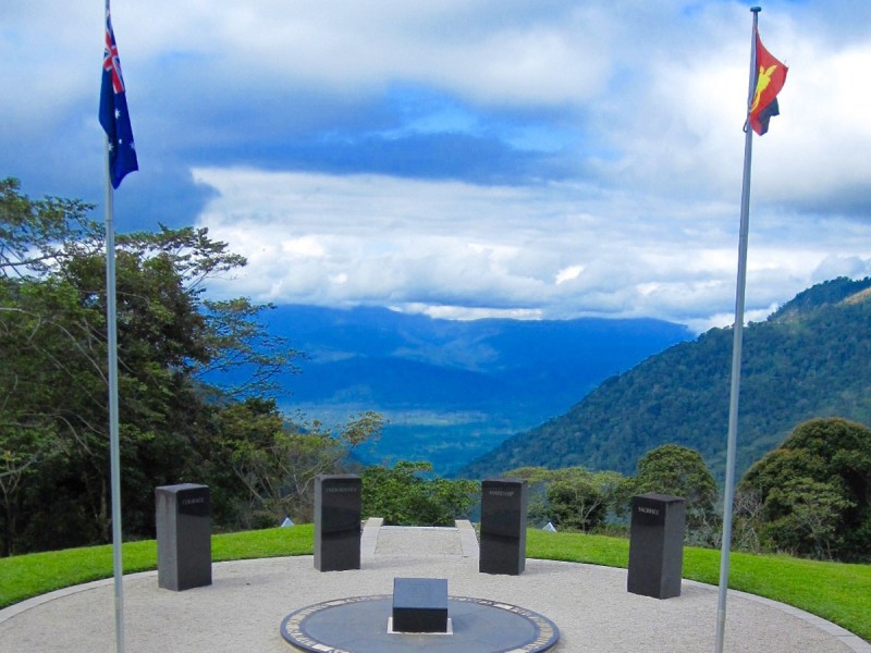 Isurava battle site Kokoda