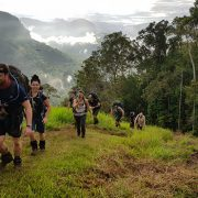 Anzac Day finish Kokoda Track