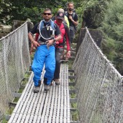 Everest Base Camp swing bridge