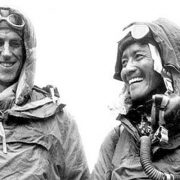 Hillary & Tenzing after summit