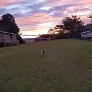Ioribiwa village sunset kokoda