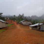 coming into Nauro village Kokoda