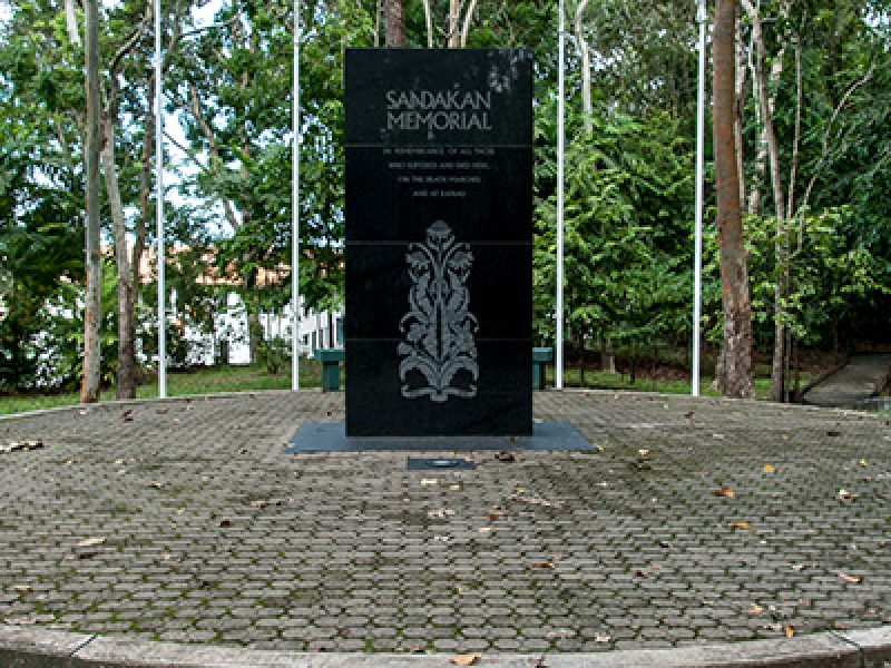 sandakan death march memorial