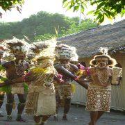 Buna village dancers