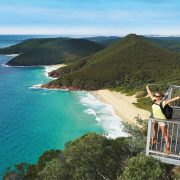 Mt Tomaree viewing platform
