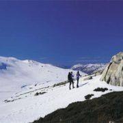 Mt kosciuszko snow shoe trekking