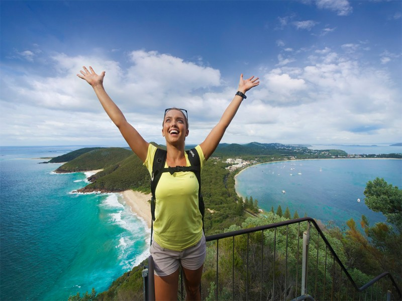Tomaree Mountain Summit whohoo