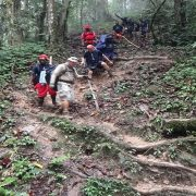 Kokoda track Brigade hill