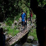 Crossing lala creek Kokoda