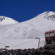 Elbrus from hut