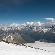 On the slopes of Elbrus
