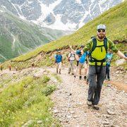 acclimatisation walk on Elbrus