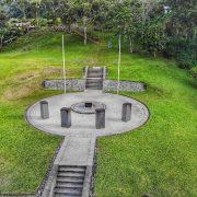 Isurava battle site Kokoda from above