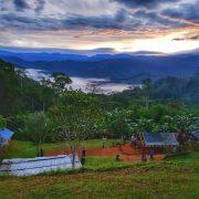 Nauro village sunrise