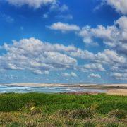 Birubi Beach and dunes