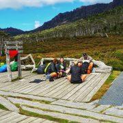 Overland Track Campsite